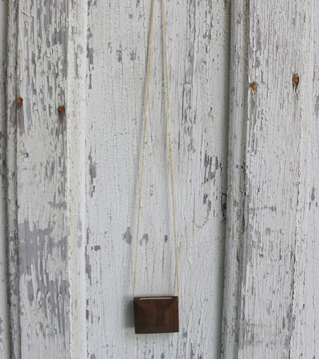 Charlotte Greville: Peekaboo Square Necklace