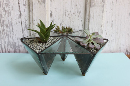 Halona Glass Table Top Prism