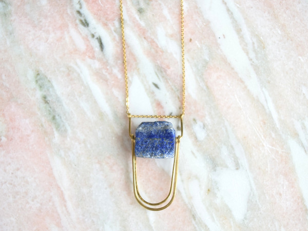 Is Was + Will Be Land of Sky Necklace