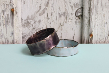 Melanie Rice: Thin Grape Bangle