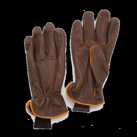 Unisex Geier Glove Light Lined Deerskin Work Glove - Brown