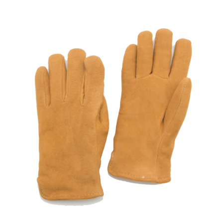 Unisex Geier Glove Lined Deerskin Slip-on Glove - Tan