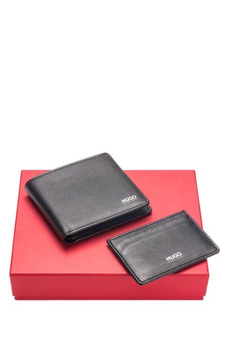 Hugo Wallet Gift Set - Black