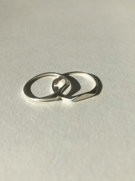 Erin Claus sterling signet ring