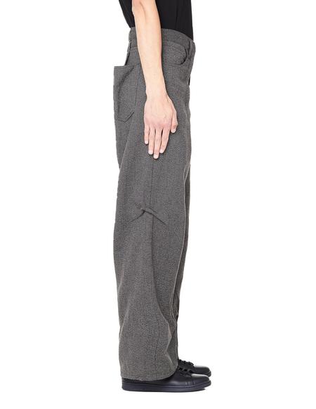 Visvim Muir Linen Wool Trousers - Grey