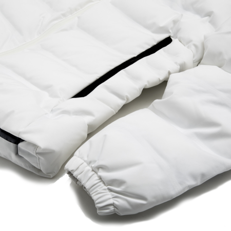 Unisex Aigle Rigdown Short Parka - White