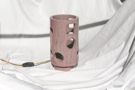 Morgan Peck Short Piling Lamp - Eraser Pink