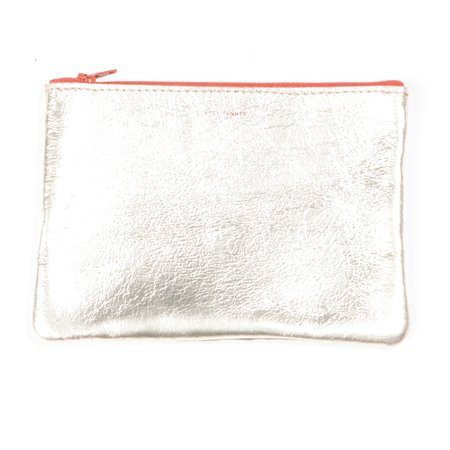 Tracey Tanner Flat Zip Pouch - Blonde Gold