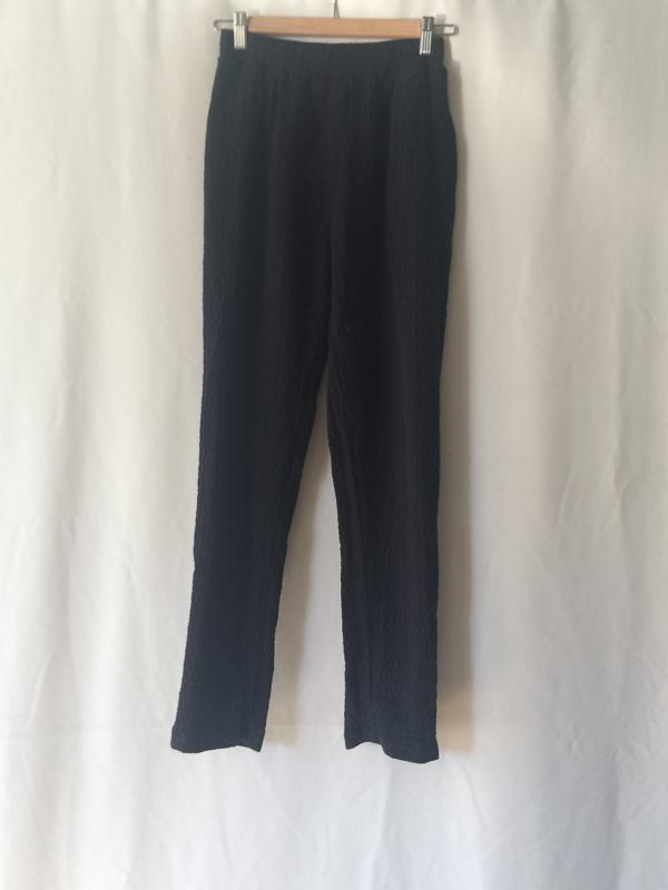 Black Crane Quilt Pants