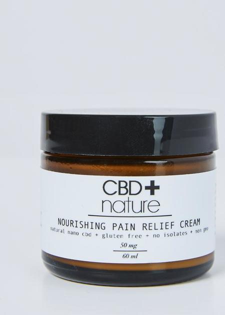 CBD+nature Nourishing Pain Relief Cream 60ml