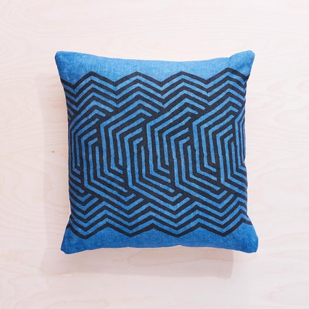 Graham Keegan Pillow - INDIGO