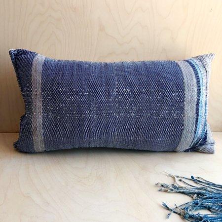 Jess Feury Landscape Pillow #1 - INDIGO