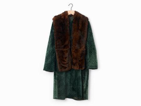 Sofie D'Hoore Lust Coat - Emerald