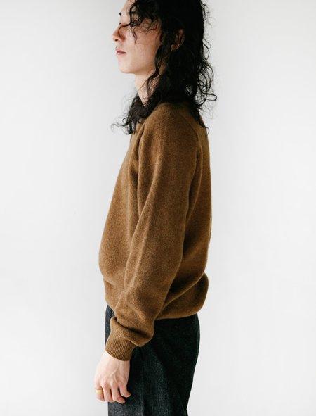 Neighbour Merino Cashmere Sweater - Cedar