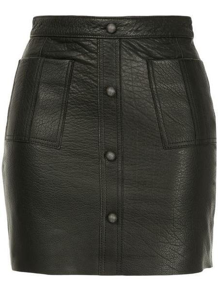 Aje Leather Mini - Black