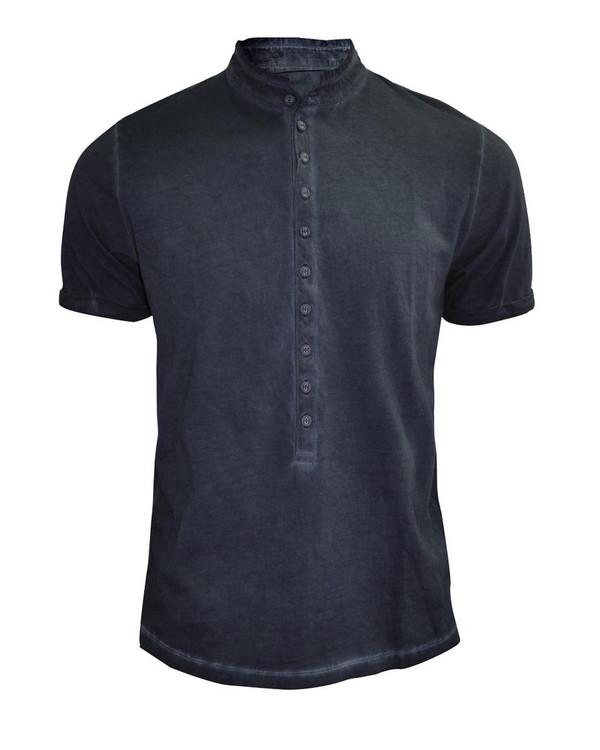 Bolongaro Trevor Indigo Colt Grandad Shirt