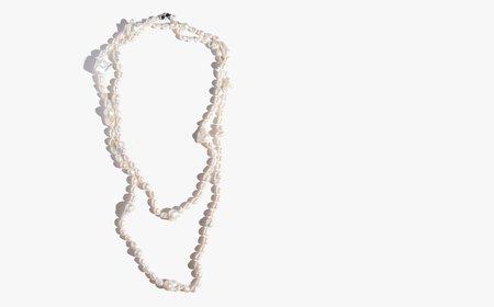 Vintage Kindred Black Extra Long Natural Freshwater Pearls