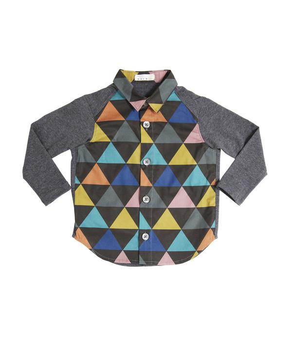 Triangle Print Shirt