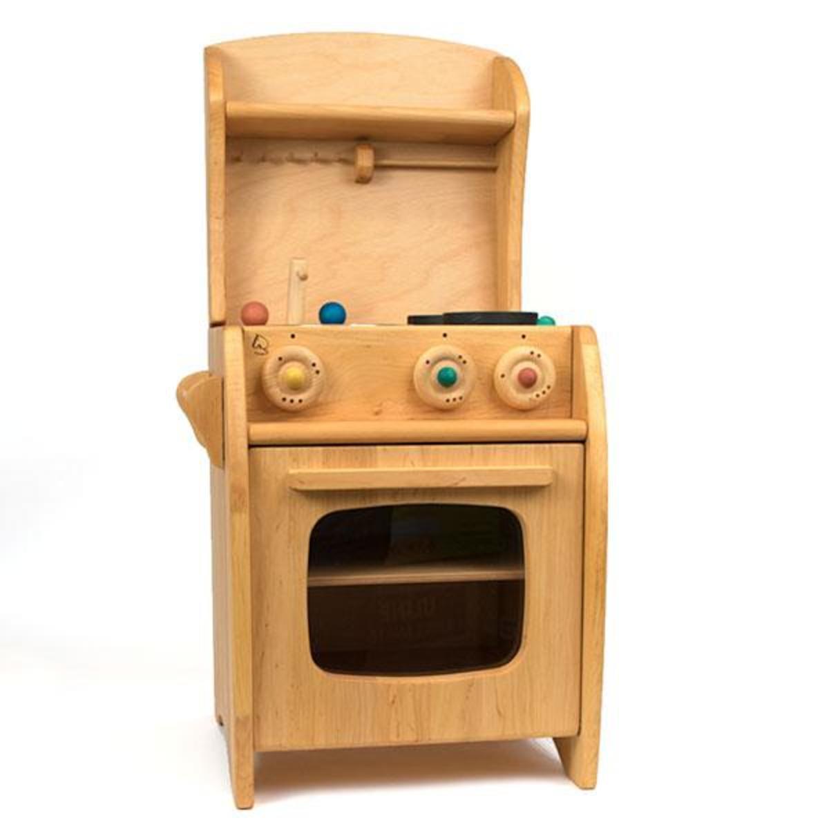 Kids Shop Merci Milo Wooden Kitchen with Shelf
