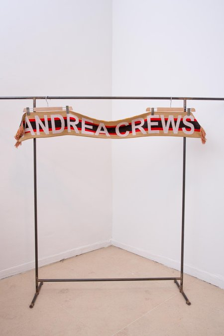 Andrea Crews Fashion Art Activist Scarf