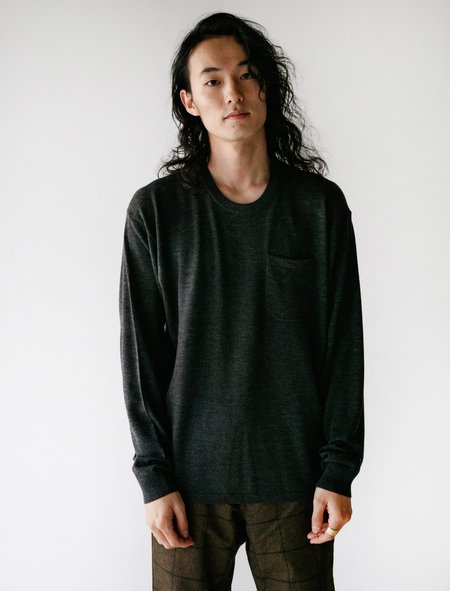 Meticulous Knitwear Hennessy Tee - Charcoal
