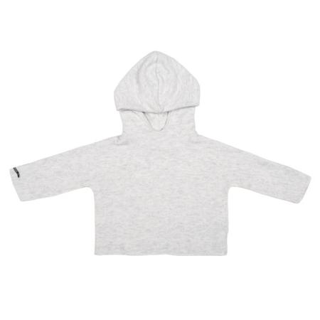 KIDS Album di Famiglia Baby Easy Gulli Sweater With Hood - Rice Off-White