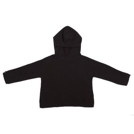 KIDS Album di Famiglia Easy Gulli Sweater With Hood - Choco Brown