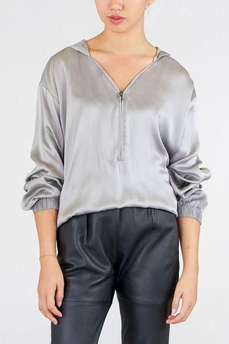 GOSILK Go Luxe Sweatshirt - Platinum