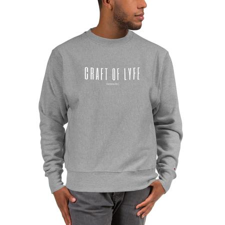 Craft of Lyfe COL x Champion  Essential Sweatshirt
