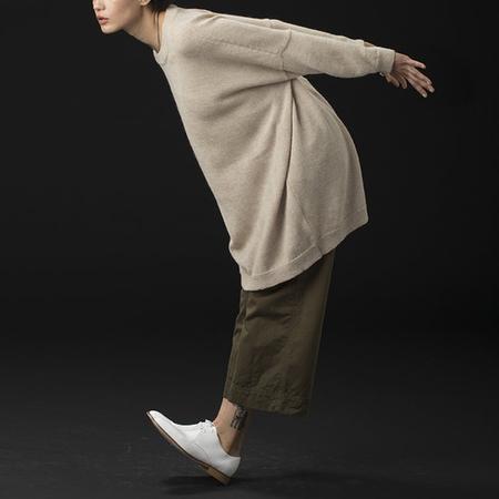 Ali Golden Kimono Pullover Sweater -  Oatmeal