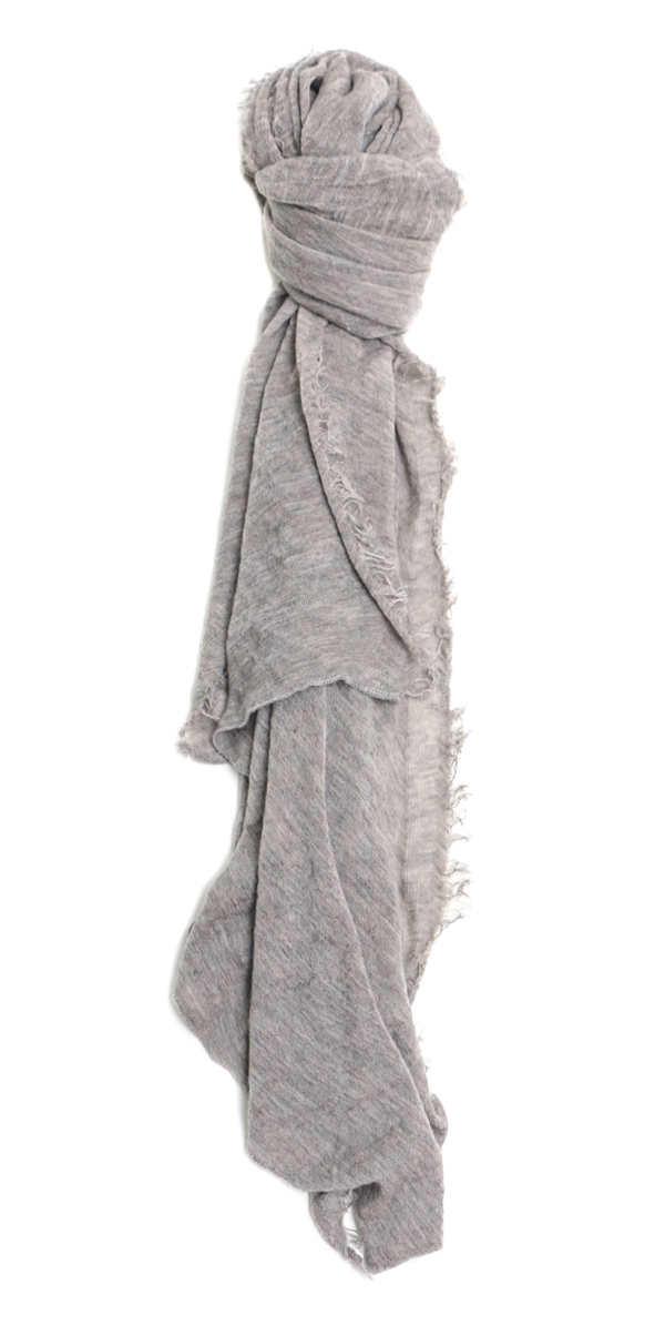 Grisal Love Cashmere Scarf in Greige