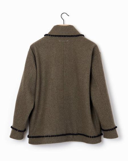 MM6 Pom Pom Jacket  - Grey
