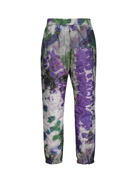 Stussy Curtis Tie Dye Quilted Pant - Olive