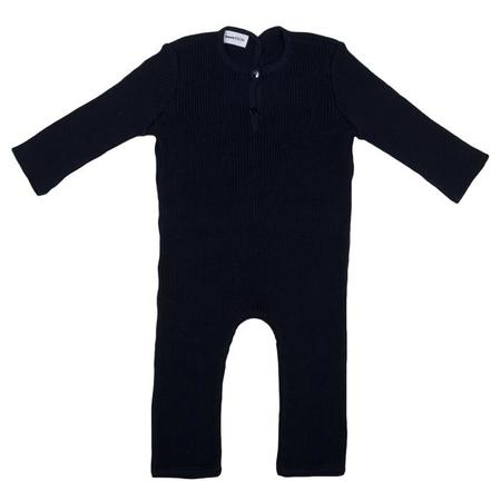 KIDS Pequeno Tocon Baby Long Sleeved Jumpsuit - Navy Blue