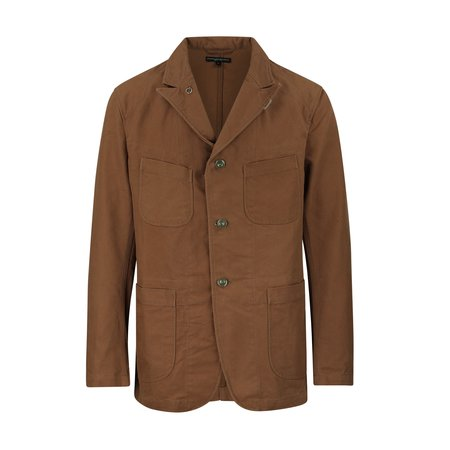 Engineered Garments Bedford Duck Canvas Jacket - Brown