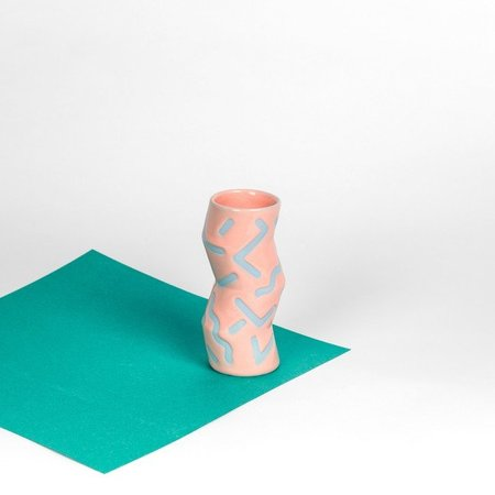 Colin and Taylor ZIG-ZAG VASE