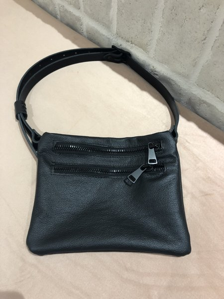YOUR BAG OF HOLDING DOUBLE ZIPPER FANNY PACK
