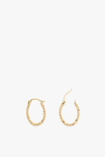 Stella and Bow Selma Hoop Earrings P - Gold Filled
