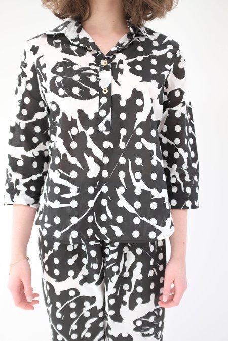 Beklina Pajamas - Leaf Dot Print