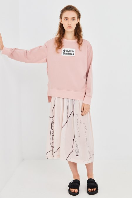 Salasai Untitled Sweat - Pink