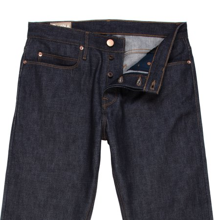 Freenote Cloth Portola Classic Taper Jeans - 14.75 oz. Broken Twill Denim