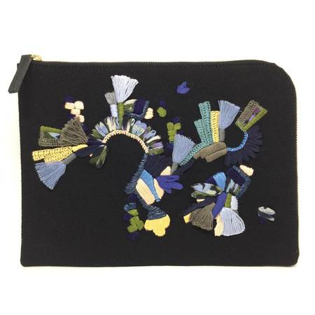 Megan Park Silken Splash Clutch