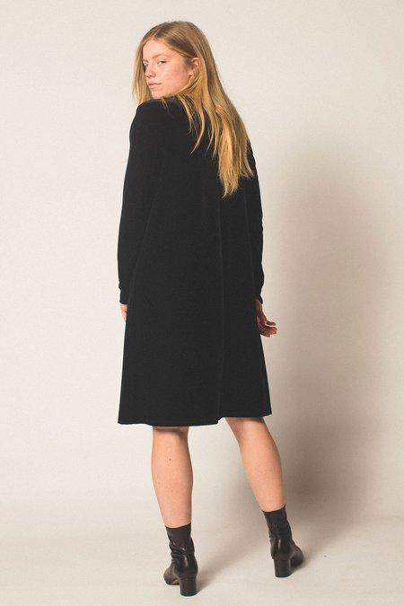 Preservation Vintage Velvet Long Sleeve Dress - Black