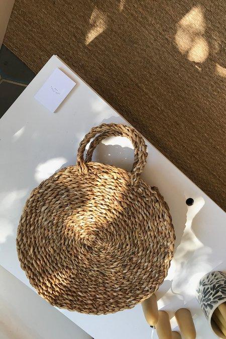 Maison Bengal Circle Straw Bag