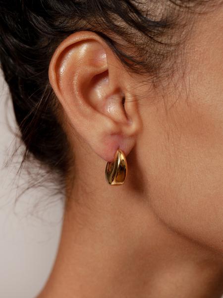 Wolf Circus Hepworth Hoop Earrings - Gold
