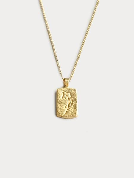 Wolf Circus Ellsworth Necklace - Gold