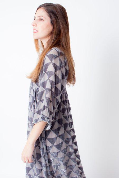 Colorant Victory Petite Dress - Taro Burnout