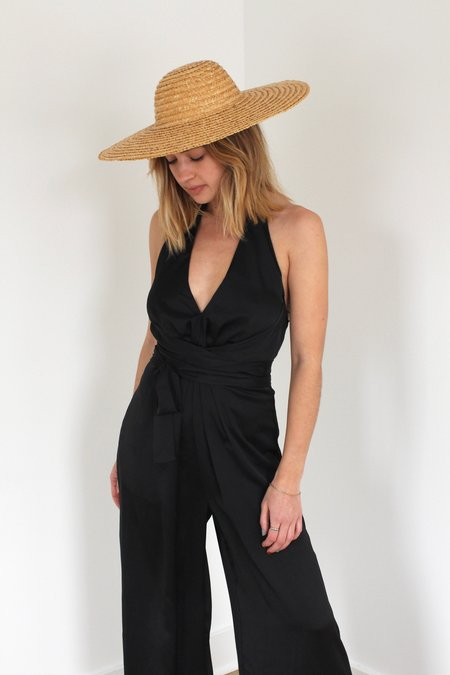 ASTR The Label Boogie Nights Jumpsuit - BLACK
