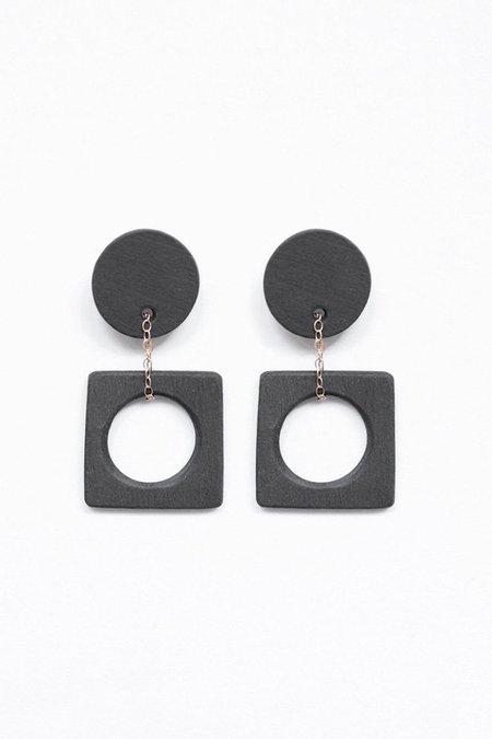 Eny Lee Parker Luci Earrings - Black