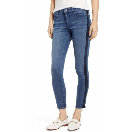 DL 1961 Florence Mid-Rise Ankle Skinny - Pescadero